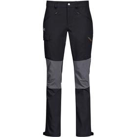 Bergans Nordmarka Hybrid Broek Dames, black/solid dark grey